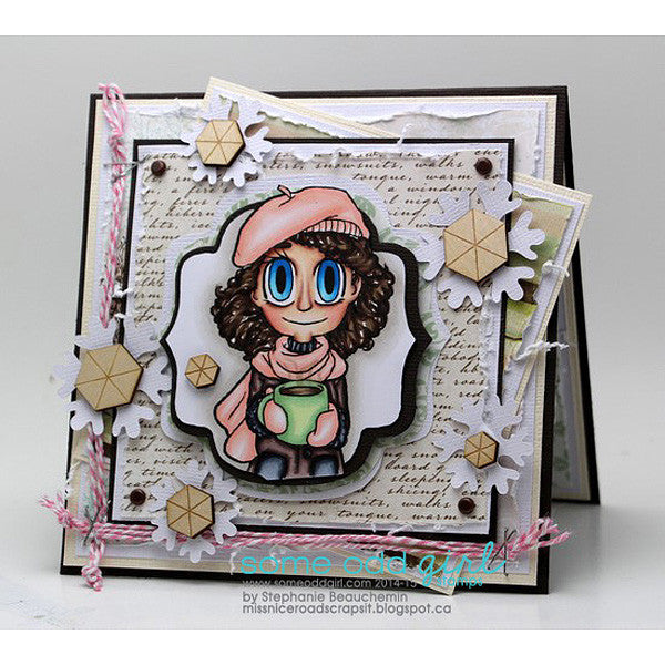 Coffee Piper Digi Stamp, SomeOddGirl - 4