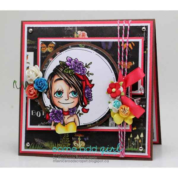 Flower Kaylee Digi Stamp, SomeOddGirl - 4