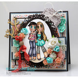 Girlfriends Kaylee & Mae Digi Stamp, SomeOddGirl - 7