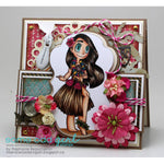 Hula Girl Mae Digi Stamp, SomeOddGirl - 3