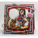 Tia and Puppy Digi Stamp, SomeOddGirl - 4
