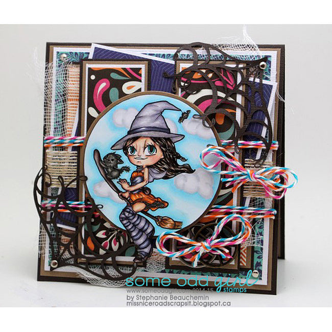 Witchy Mae Digi Stamp, SomeOddGirl - 4