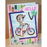 Bicycle Kaylee Digi Stamp, SomeOddGirl - 2