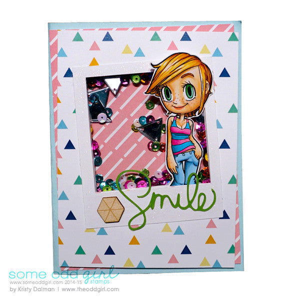 Summer Kaylee Digi Stamp, SomeOddGirl - 2