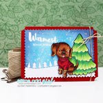 Sweater Pup Digi Stamp
