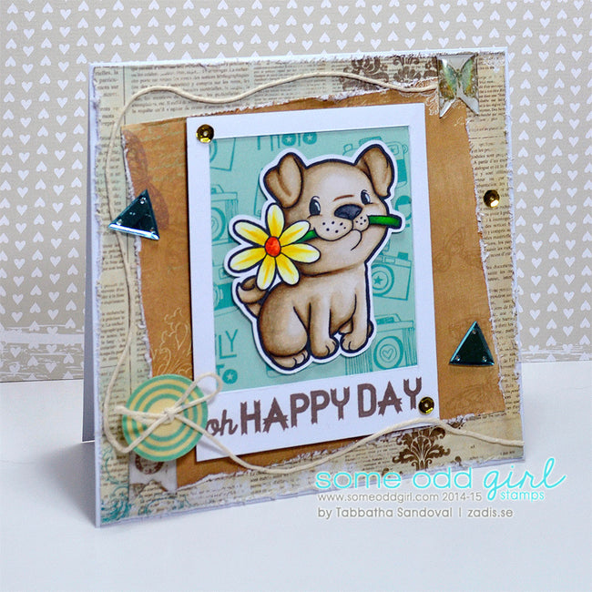 Puppy Love Digi Stamp, SomeOddGirl - 4