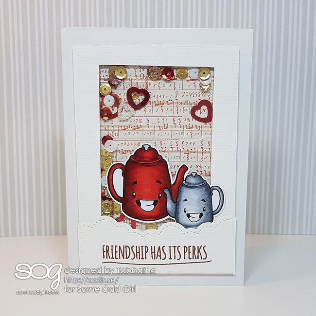Tea Pot Digi Stamp