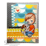 Boy's Best Friend Tobie Digi Stamp, SomeOddGirl - 2