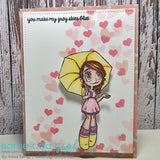 Umbrella Gwen Clear Stamp, SomeOddGirl - 3