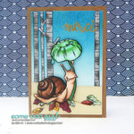 Umbrella Snail Digi Stamp, SomeOddGirl - 2