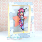 Unicorn Mae Digi Stamp, SomeOddGirl - 3