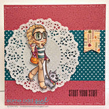 Walk the Dog Piper Clear Stamp, SomeOddGirl - 6