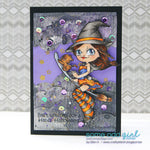 Witchy Mae Digi Stamp, SomeOddGirl - 6