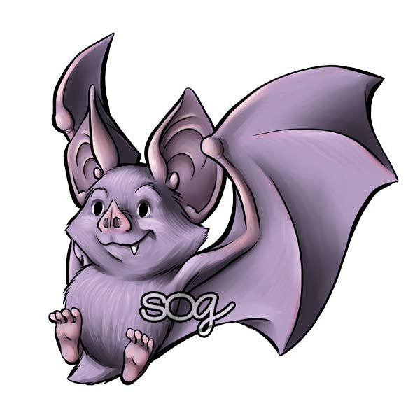 Bat Digi Stamp, SomeOddGirl