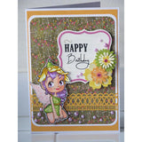 Flower Fairy Digi Stamp, SomeOddGirl - 2