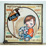 Boy's Best Friend Tobie Digi Stamp, SomeOddGirl - 3