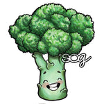 Broccoli Digi Stamp, SomeOddGirl - 1