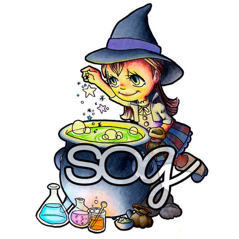 Cauldron Tia Digi Stamp, SomeOddGirl - 1