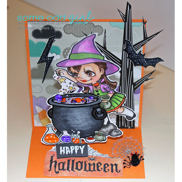 Cauldron Tia Digi Stamp, SomeOddGirl - 2