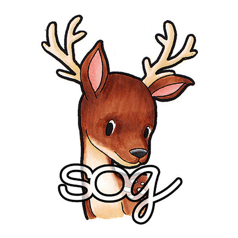 Sweet Deer Digi Stamp, SomeOddGirl - 1