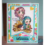 Giggle Fairy Digi Stamp, SomeOddGirl - 3