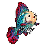Angel Fish Digi Stamp, SomeOddGirl - 1