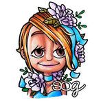 Flower Kaylee Digi Stamp, SomeOddGirl - 1