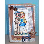 Girlfriends Kaylee & Mae Digi Stamp, SomeOddGirl - 3