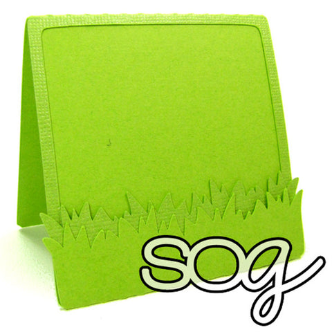 Cut File: Grass Fold Card Base, SomeOddGirl