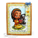 Reading Mae Digi Stamp, SomeOddGirl - 2