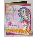 Giggle Fairy Digi Stamp, SomeOddGirl - 4