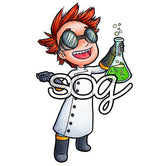 Mad Scientist Tobie Digi Stamp