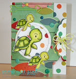 Sea Turtle Digi Stamp, SomeOddGirl - 3