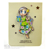 Christmas Tree Mae Digi Stamp, SomeOddGirl - 2