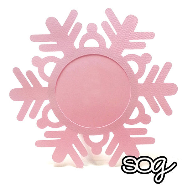 Cut File: Snowflake Ornament, SomeOddGirl