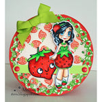 Strawberry Girl Gwen Digi Stamp, SomeOddGirl - 2