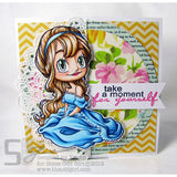 *Sample* Renew Clear Stamp, SomeOddGirl - 2