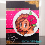 Tropical Piper Digi Stamp, SomeOddGirl - 3