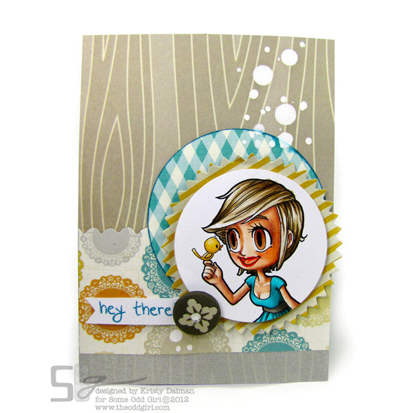 Tweet Kaylee Digi Stamp, SomeOddGirl - 2