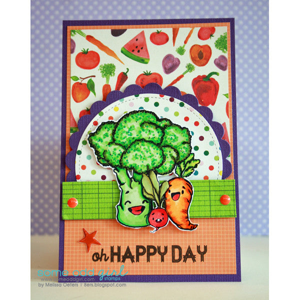 Broccoli Digi Stamp, SomeOddGirl - 3