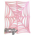 Cut File: Spider Web Background