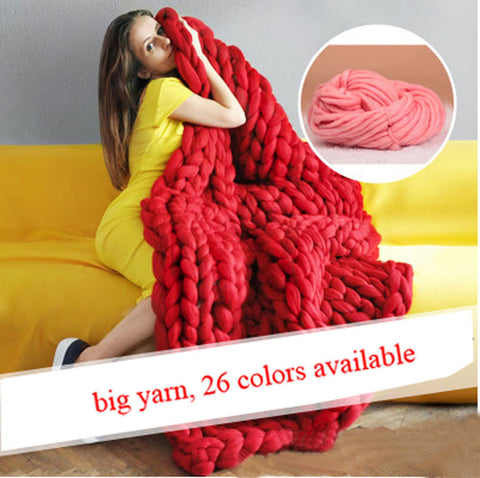 250g Super Thick Wool Chunky Yarn Wool