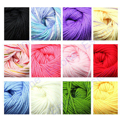 Free Shipping 3 Skeins/lot 50g Milk Fiber Cotton Silk Baby Warm Knitting Yarn Hot