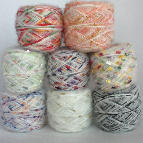 Mohair Wool Knitting Yarn Fingering Baby Crochet Yarn For Hand Knitting Thread