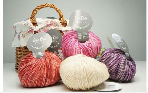 200g=4pcs Spray  Wool Yarn For Hand Knitting Super Soft Baby Yarns Sweater Scarf Painting Yarn