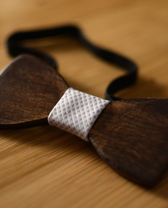 Daintree Wood Bow Tie - Le Monsieur