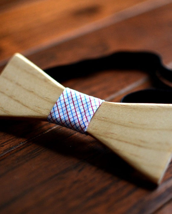 Robrito Wood Bow Tie - Le Monsieur