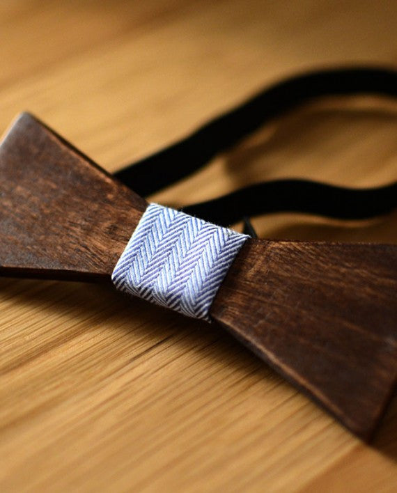 Lima Wood Bow Tie - Le Monsieur