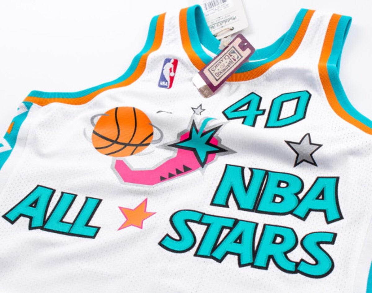 Packer Shoes x Mitchell and Ness Authentice Jersey 1996 NBA All Stars Shawn  Kemp e680dbde2