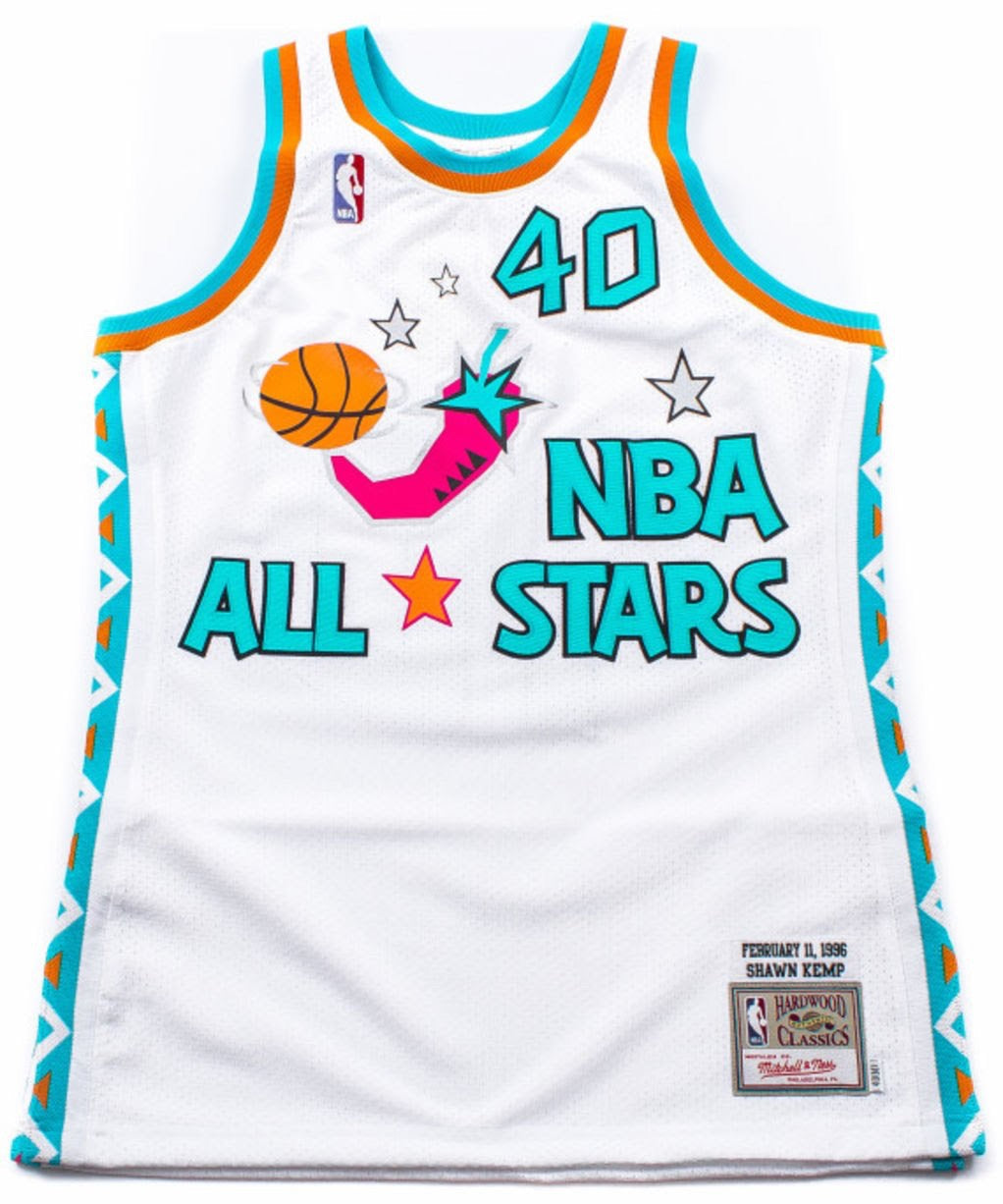 da2b0a00803 Packer Shoes x Mitchell and Ness Authentice Jersey 1996 NBA All Stars Shawn  Kemp